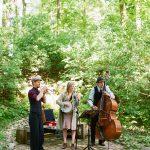 Drei Musiker im Parktheater - Kultur erleben in Brandenburg auf Gut Boltenhof